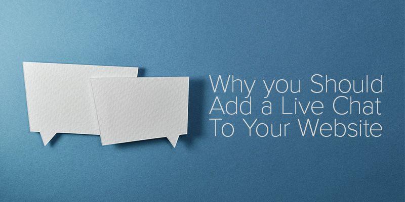 Thêm chat live để biến webiste thu hút