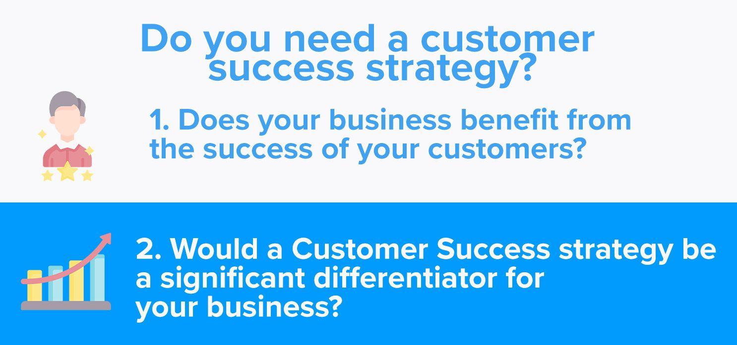 Do you need a customer success strategy?